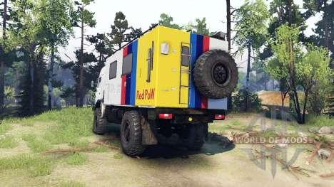 KamAZ 4326 para Spin Tires
