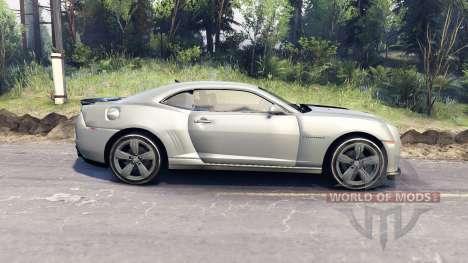 Chevrolet Camaro para Spin Tires