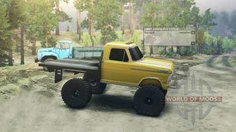 Ford F-100 [Beta] para Spin Tires