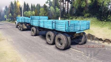 ZIL-133 G1 v2.0 para Spin Tires