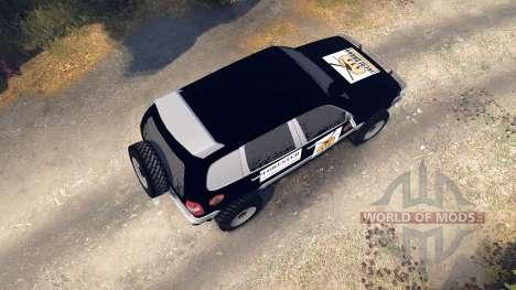 ВАЗ-21236 Chevrolet Niva negro para Spin Tires