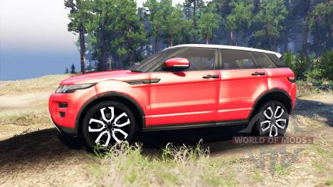 Range Rover Evoque para Spin Tires