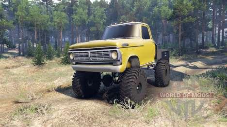 Ford F-100 v1.1 para Spin Tires
