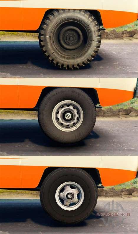 UAZ-450 V [13.04.15] para Spin Tires