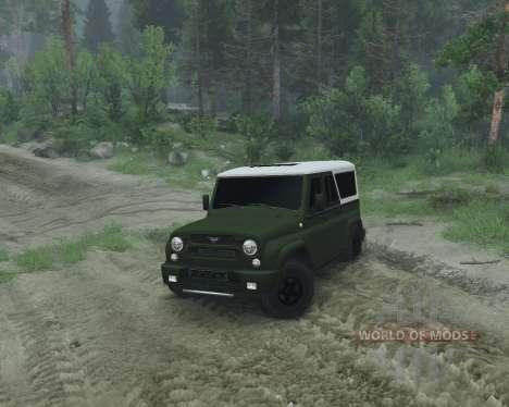 UAZ 2966 para Spin Tires