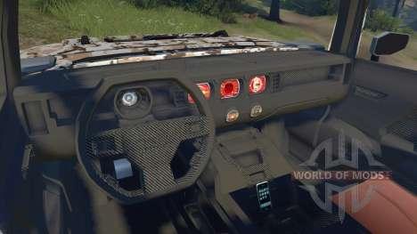 Hummer HX para Spin Tires