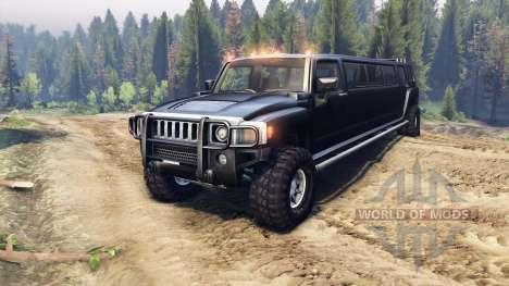 Hummer H3 Limousine para Spin Tires