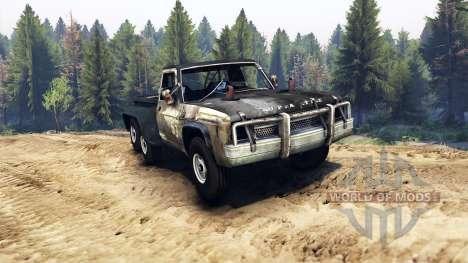 Chevrolet C-20 custom para Spin Tires
