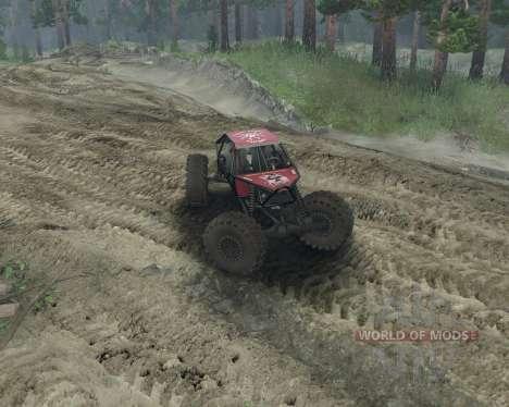 Rock Crawler para Spin Tires