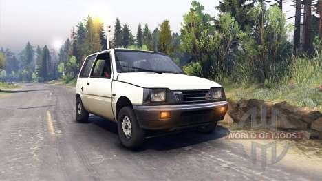 VAZ-1111 Oka para Spin Tires