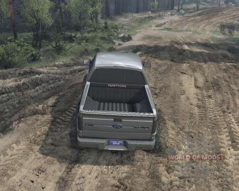 SID Ford Raptor SVT 1.0 para Spin Tires