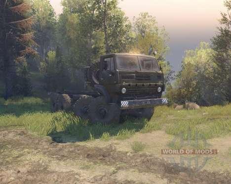 Ural 5322 Secado para Spin Tires