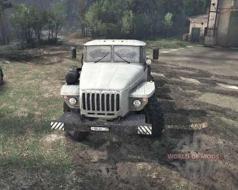 Ural 6614 v2 para Spin Tires