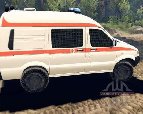 UAZ 27722 para Spin Tires