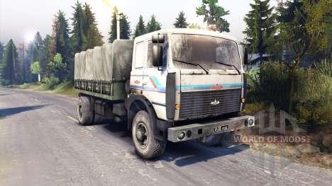MAZ-5316 para Spin Tires
