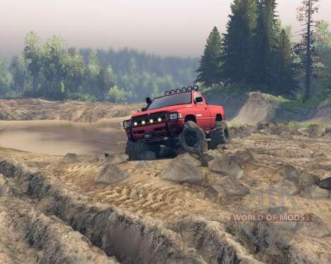 Dodge Ram 1500 para Spin Tires
