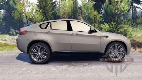 BMW X6 M v2.0 para Spin Tires