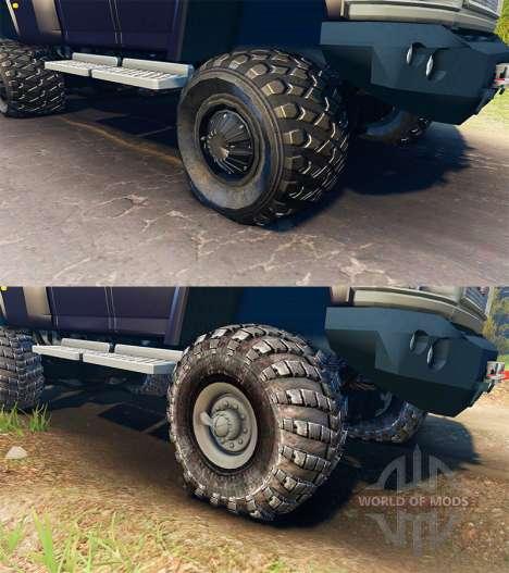 GMC TopKick C4500 Ironhide para Spin Tires