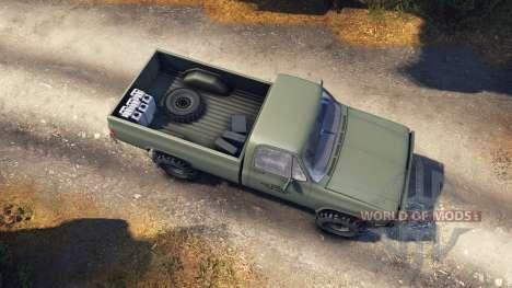 Chevrolet Eclipse CUCV M1008 para Spin Tires