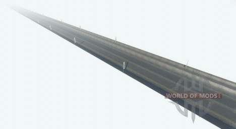 Interminable carretera para BeamNG Drive