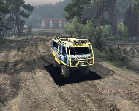 UAZ 3909 off-road para Spin Tires