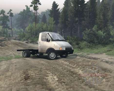 Gazelle 3302 para Spin Tires