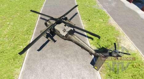 Sikorsky UH-60 Black Hawk para BeamNG Drive