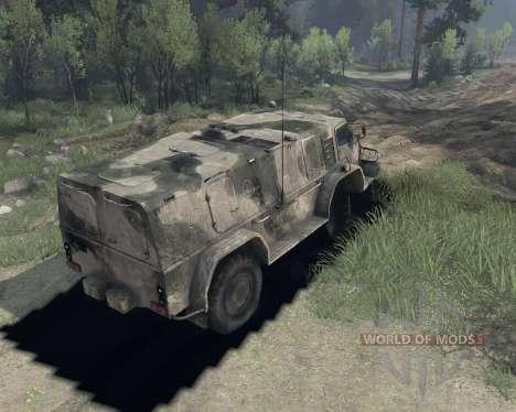 GAZ 3937 para Spin Tires