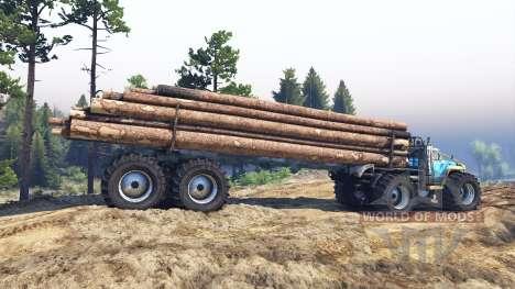 ZIL-130 Terminator v2.0 para Spin Tires