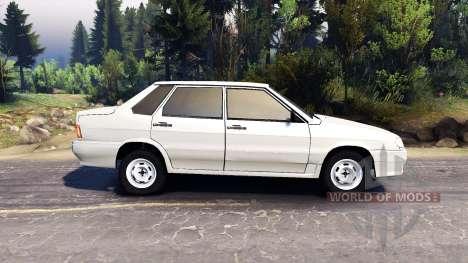 VAZ-2115 para Spin Tires