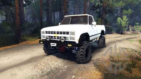 Chevrolet K20 Terror para Spin Tires