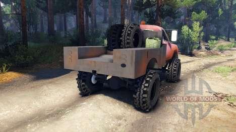 Dodge Power Wagon B-17 Rocks para Spin Tires