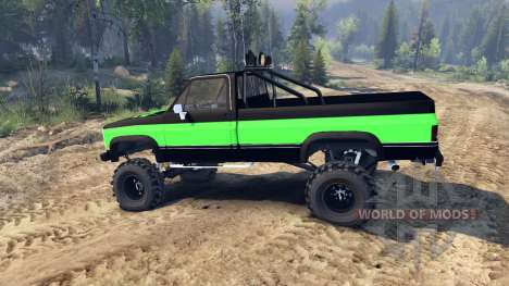 Chevrolet K20 Hunter para Spin Tires