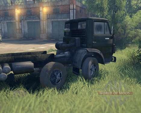 KamAZ 6540 para Spin Tires