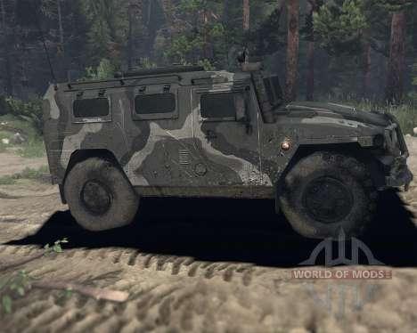 GAS 2974 Tigre para Spin Tires