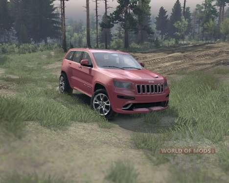 Jeep Grand Cherokee SRT8 para Spin Tires