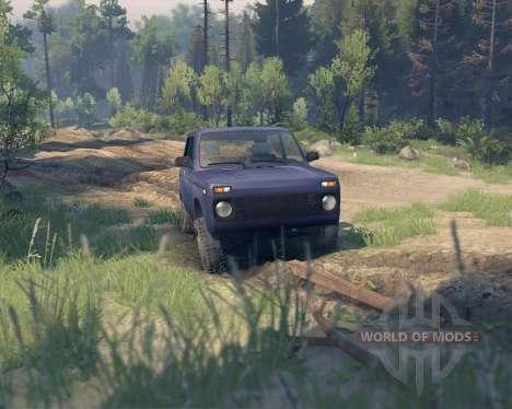 VAZ 21213 Niva para Spin Tires