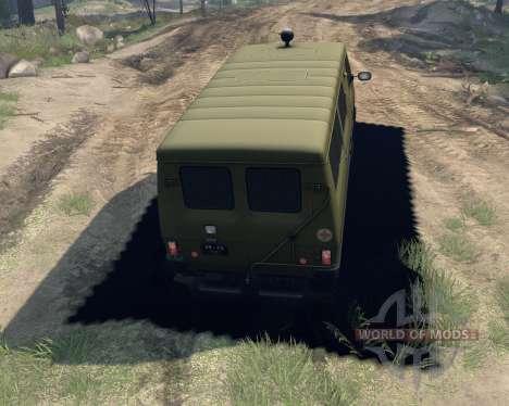 UAZ-3972 para Spin Tires