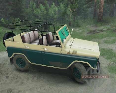 UAZ 469 para Spin Tires
