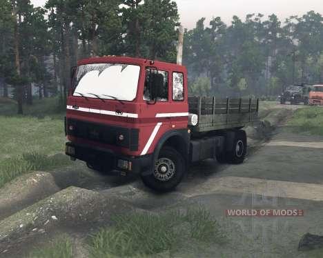 MAZ-54322 para Spin Tires