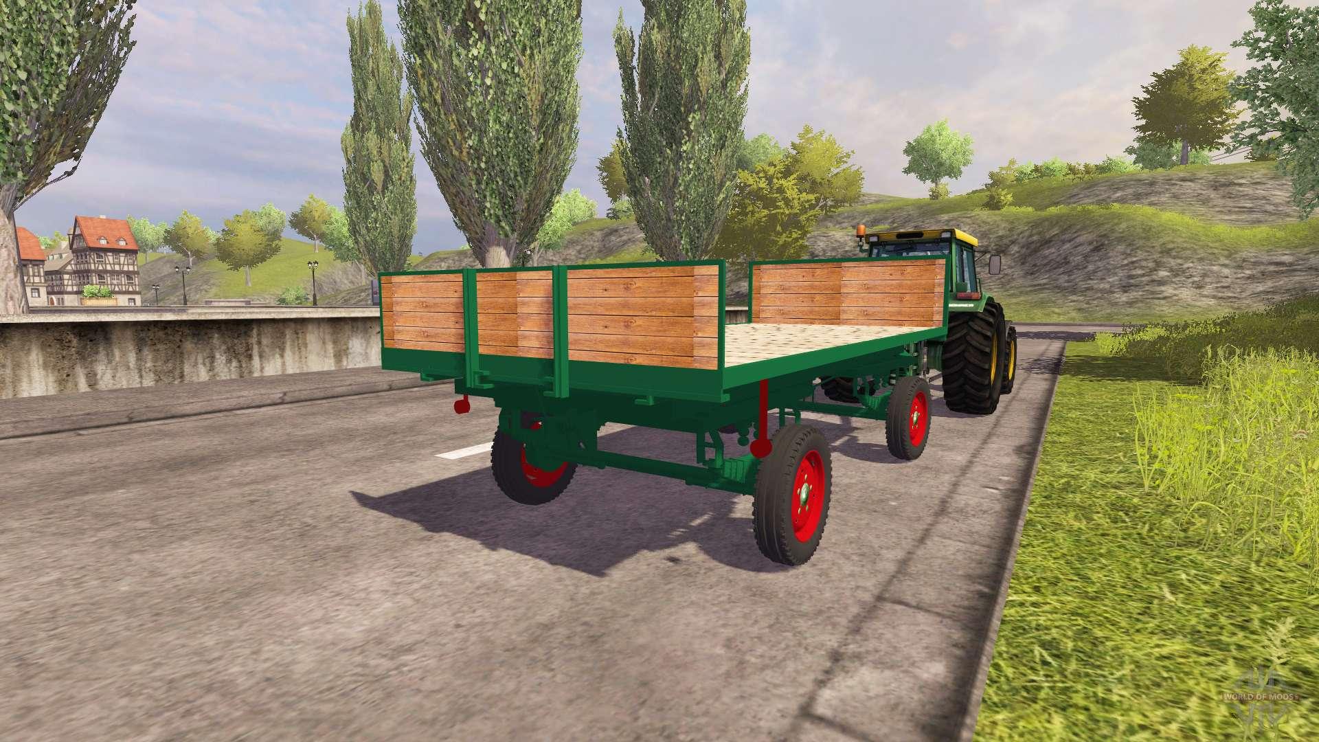 Trailer de bale para Farming Simulator 2013. Clásico de remolque para