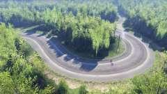 La deriva mapa para Spin Tires