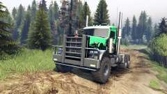 Peterbilt 379 v1.1 green and black