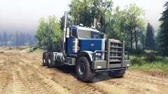 Peterbilt 379 light blue