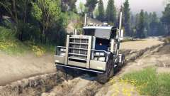 Peterbilt 379 v1.1 black blue