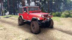 Jeep YJ 1987 red