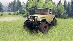 Jeep YJ 1987 green