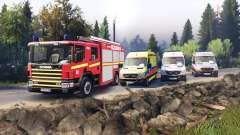 Scania 260 и Mercedes-Benz Sprinter