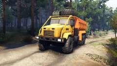 KrAZ-6322 v3.0 amarillas