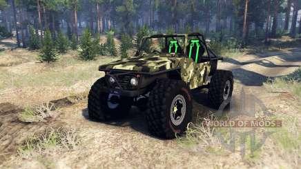 Suzuki Samurai Crawler para Spin Tires
